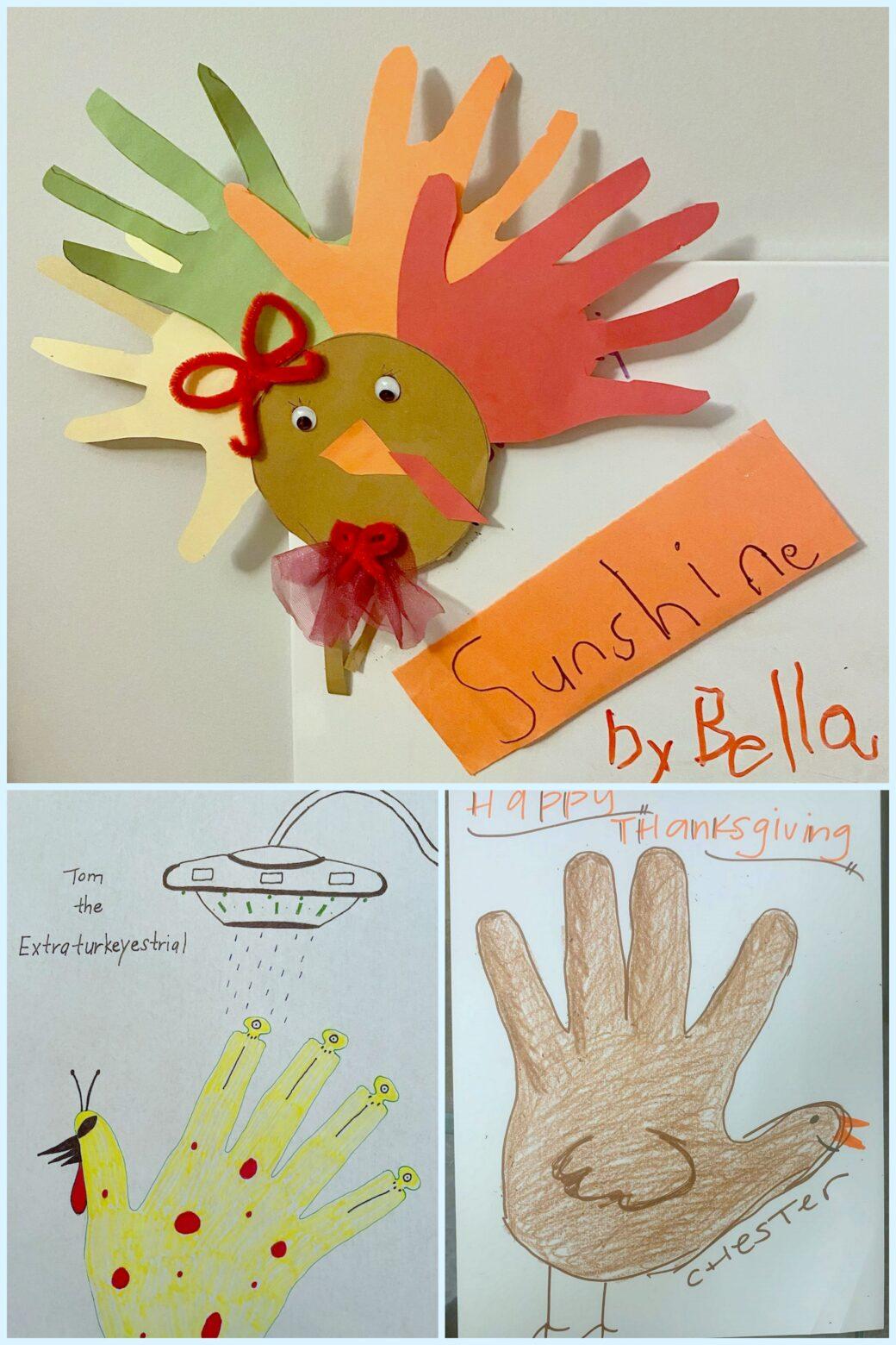 Thanksgiving Hand Turkey Winners!