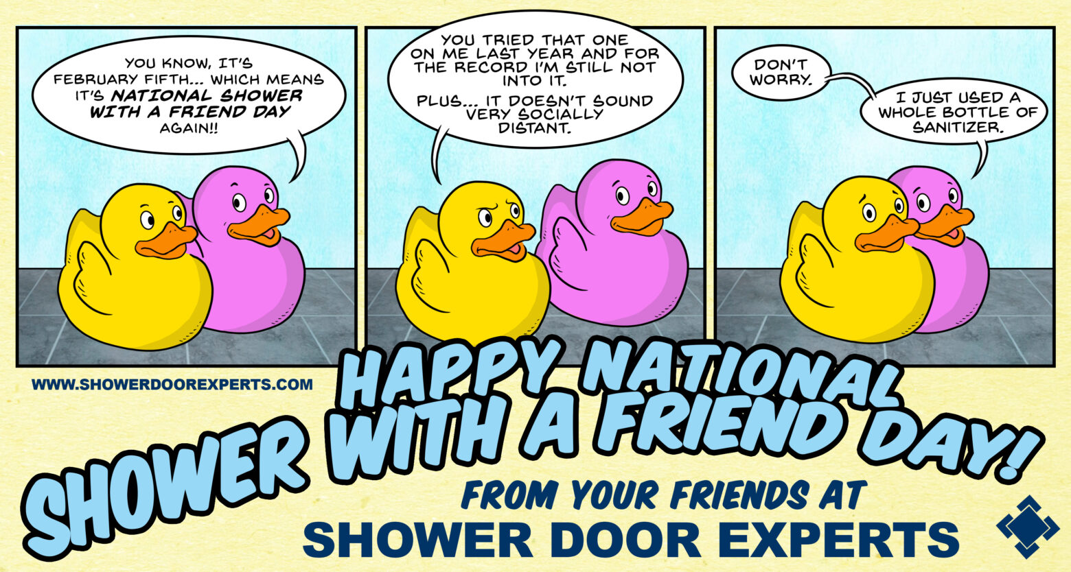 Shower With a Friend Day